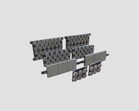 Brake lining for wind power